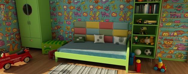 Das Kinderzimmer, in das sich Kinder verlieben